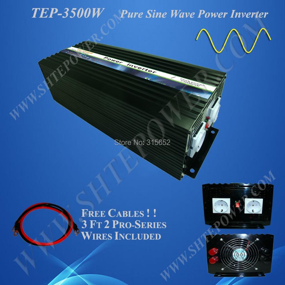 48V Micro Solar Power Converter, 3500W Pure Sine Wave Inverter 240v(China (Mainland))