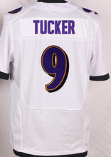 High Quality 5 Joe Flacco Stitched 9 Justin Tucker 55 Terrell Suggs 58 Elvis Dumervils Purple White Black(China (Mainland))