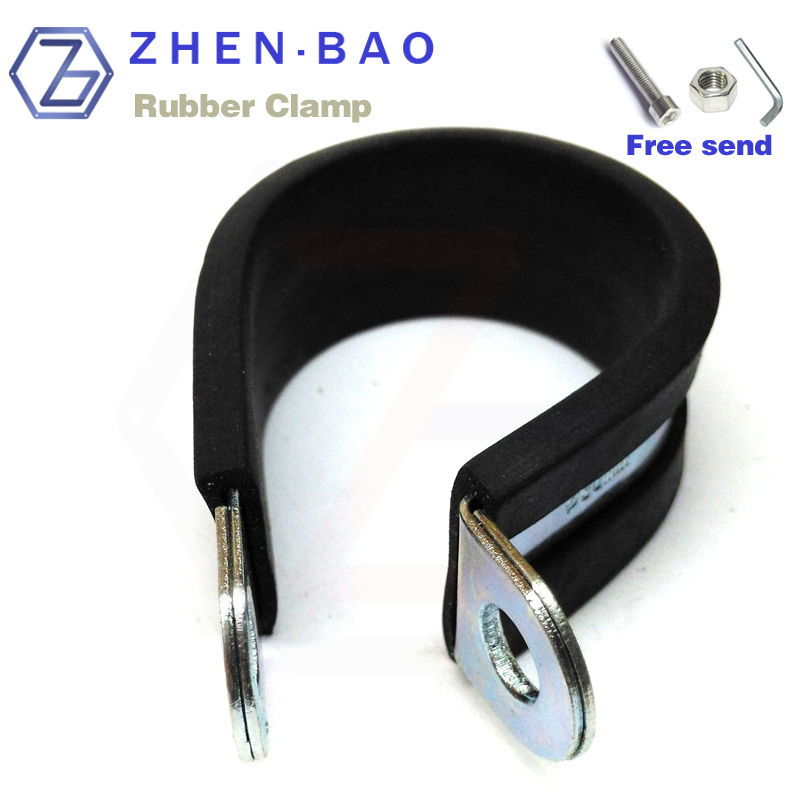 38mm , 10pcs/lot , fixing clamp with rubber , shock absorption clasp , free send screw nut key<br><br>Aliexpress