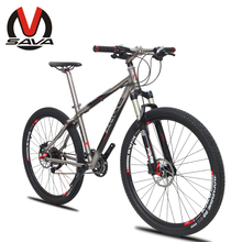 "New SAVA 30S 26""/27.5""MTB Mountain Bike-Black Mamba Ultralight Titanium Frame SHIMANO M610 Derailleur High Configuration(China (Mainland))"