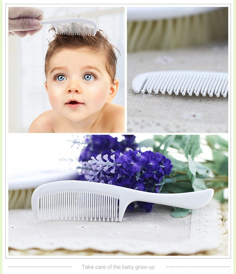 2pcs Baby comb & baby brush set hair brush remove dandruff crust
