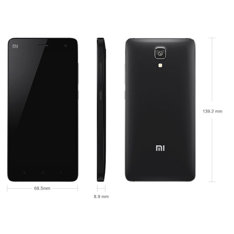 Original Xiaomi Mi4 5.0 inch 3G WCDMA Phone Call Tablet PC MIUI 6 (Android 4.4) Snapdragon 8974AC Quad Core RAM 2GB ROM 16GB GPS
