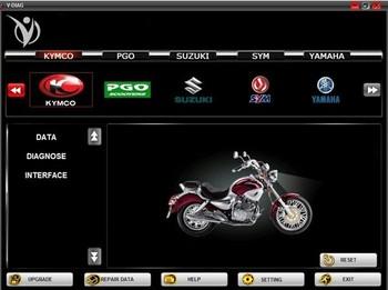 Motorcycle scanner vdiag For Honda,SYM,KYMCO,for YAMAHA,SUZUKI,PGO,HTF series brands motorbike diagnostic repair scan tool