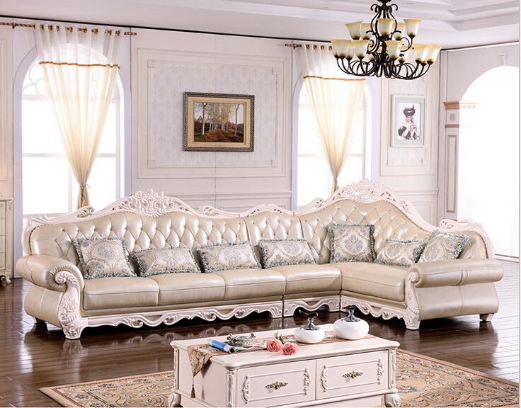 antique classic wood funiture living room sofa set modern
