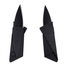 Кредитная карта нож складной карманный нож из нержавеющей стали мини-кошелек открытый отдых нож инструменты складной тактический нож