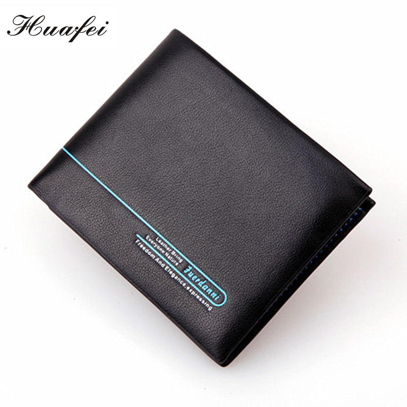 Huafei New Fashion Brand Wallet Men's Wallet High Quality Leather Multifunctional Men Purse Men Billfold Card Holders 002(China (Mainland))