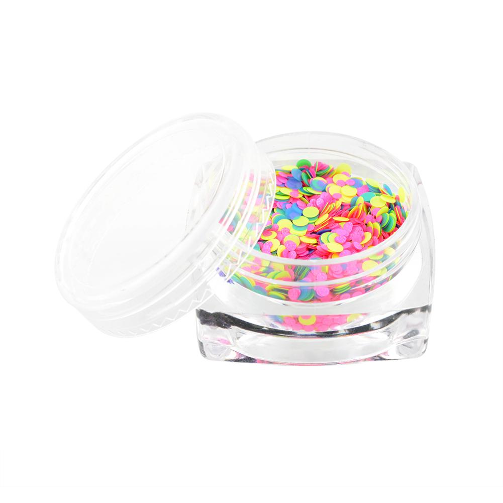Hot Fashion 1 Box 1mm-2mm Mixed Mini Round Thin Nail Art Glitter Paillette HY26 free shippingFree Shipping(China (Mainland))