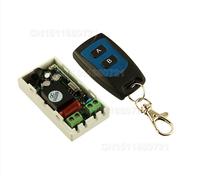 Mejor Precio AC 220 V 1CH Inalámbrico Interruptor de Control Remoto Sistema Receptor Transmisor de 2 Botones 315 mhz Remoto A Prueba de agua/433.92 mhz