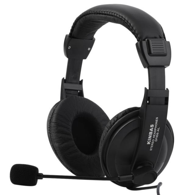 Gaming Headset Игры Музыка Наушники Наушники с Микрофоном Mic 3.5 мм Для Портативных ПК Computer Black
