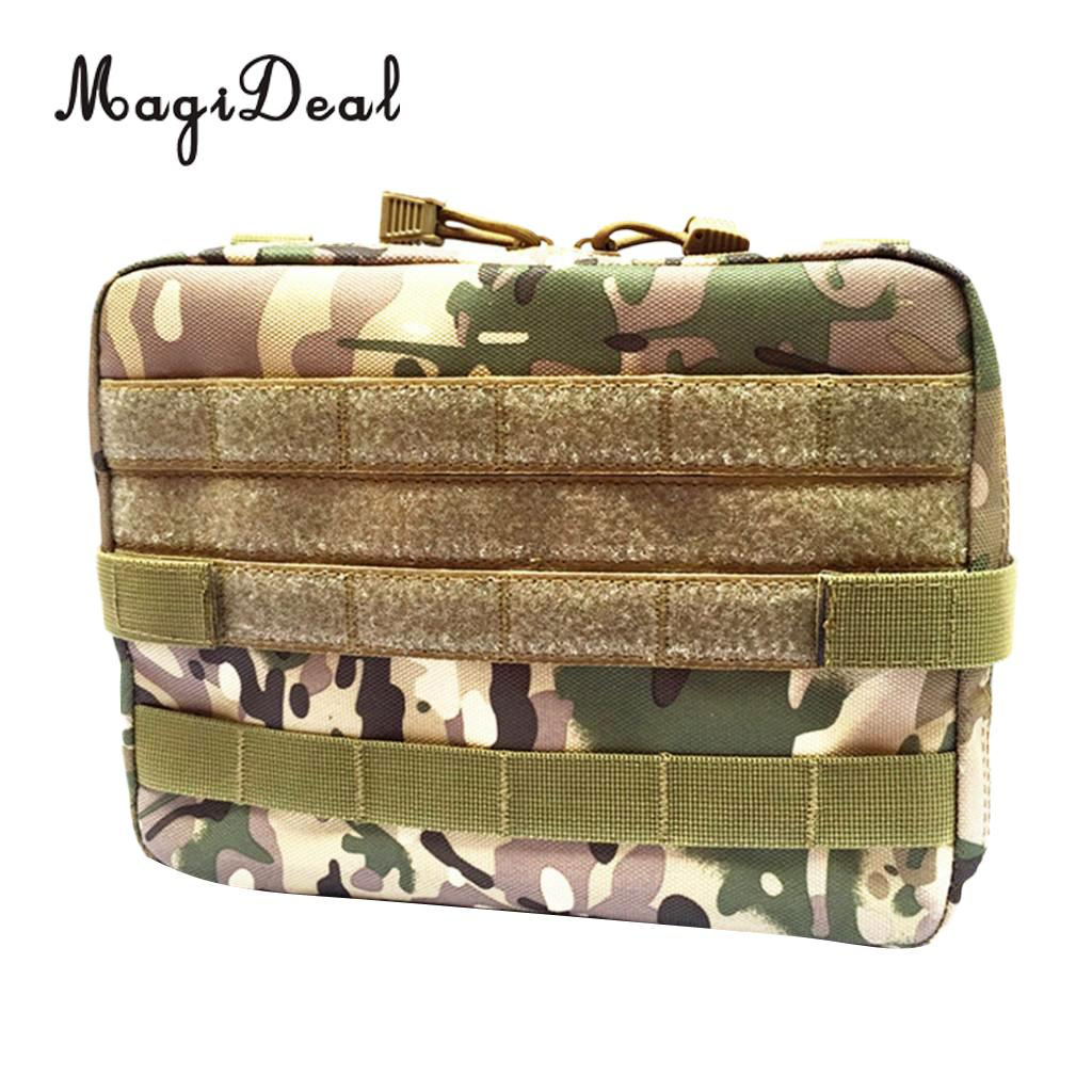 MagiDeal Large 10-Inch Molle Tactical Survival Tool Utility Accessory Vest Magazine Pouch
