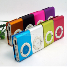 Free Shipping metal mp3 clip,music player,support top 8gb micro sd card! 1pcs/lot (Only MP 3)