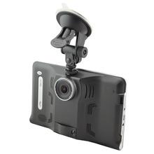 7 » Android 4.4.2 автомобиль GPS навигации грузовик автомобильный GPS навигатор планшет пк автомобилей радар-детектор, Автомобильный видеорегистратор w / iGO / навител / Sygic карта