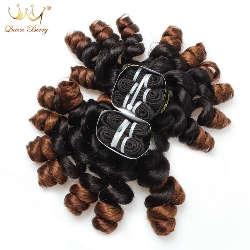 Unprocessed 10A Peruvian Virgin Hair Tip Curl Funmi Hair Human Hair Weave Ombre Peruvian Tip Curl Peruvian Hair Extension 2pcs(China (Mainland))