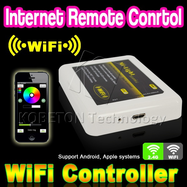 2015 Dimmable Mi Light Wireless Wifi LED Remote Controller for 2.4G Smart Light RGBW/RGB Lamp Bulb Strip For iPhone For Android(China (Mainland))