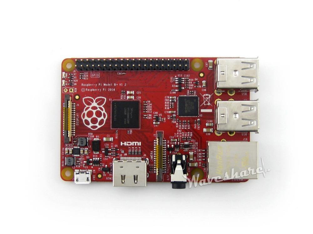Пи малины модель b + плюс 512 мб arm11 система linux мини-пк совет по развитию пи малины b + стартовый комплект