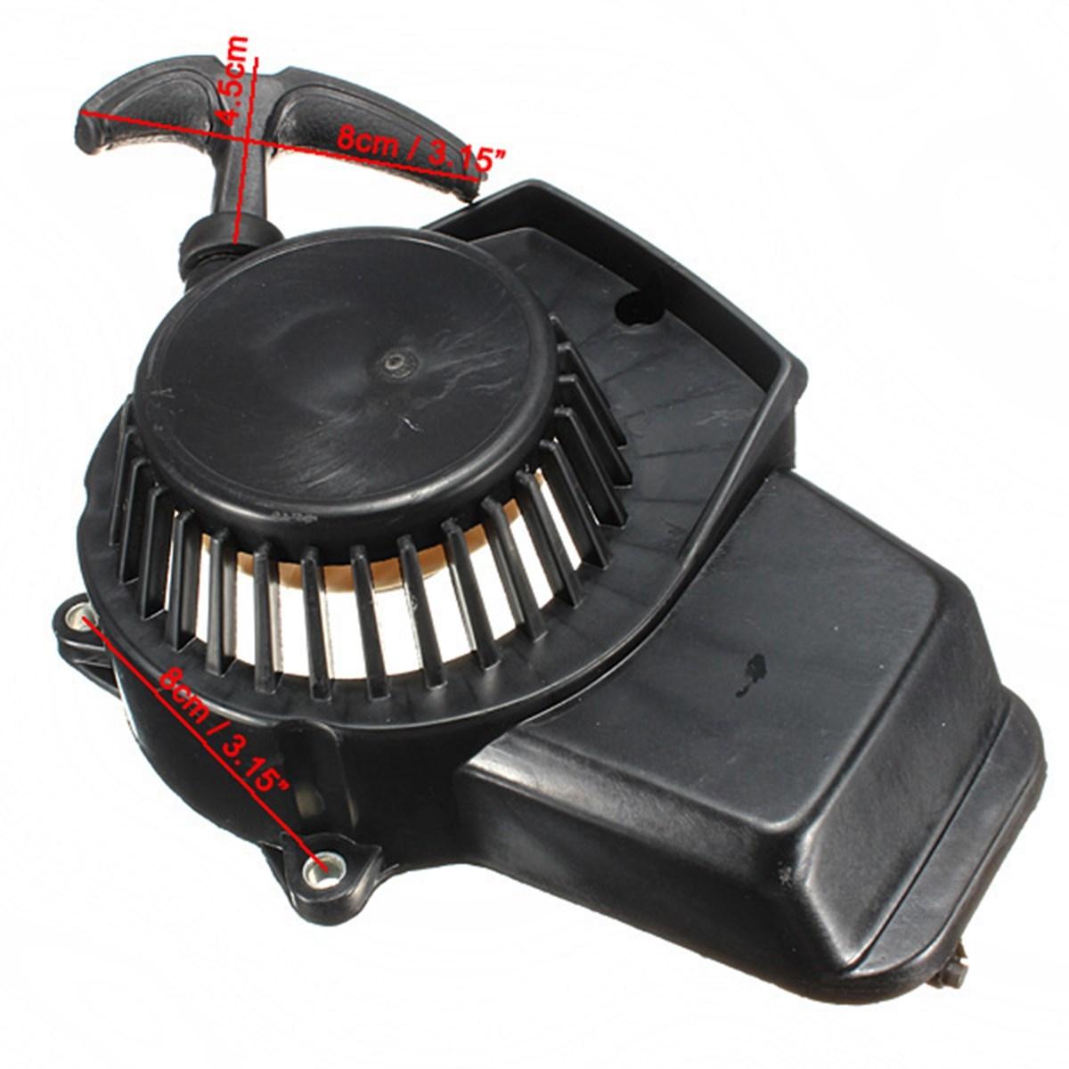 Audew 47cc 49cc Pit Dirt Bike Minimoto Mini Quad Pull Start Starter Cord Pullstart Cog(China (Mainland))