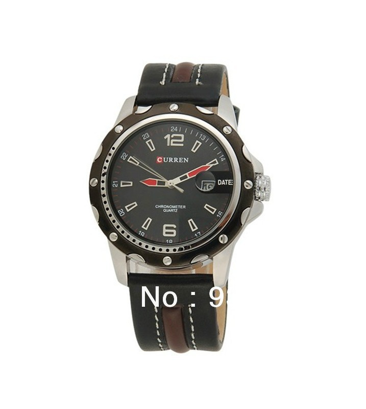mens watches top brand luxury quartz curren waterproof