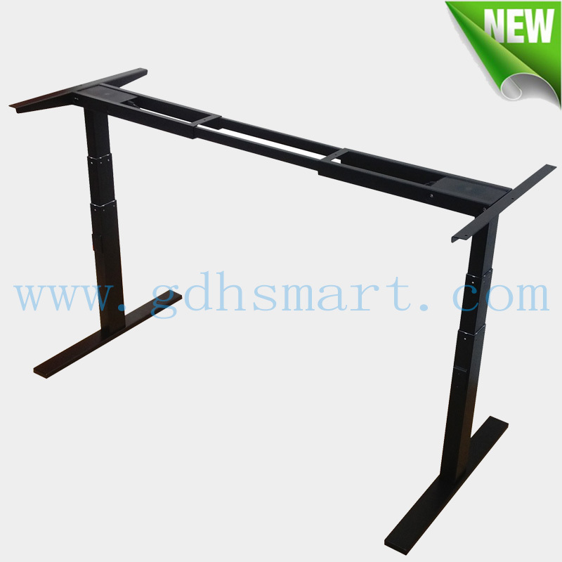 office furniture components rasing up lifting down desk legs height adjustable desk of use office desk components