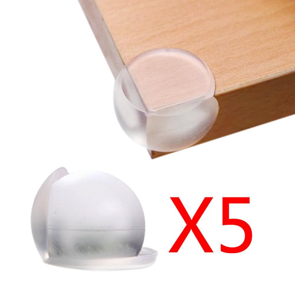 Гаджет  5pcs Newest High qulity PVC Child Baby Soft Safety Ball Corner Table Edge Angle Guard Bumper Protector Cushion None Мебель