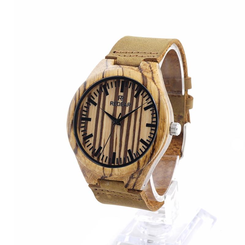 Japanese Quartz zabra wood Men's Watches World Fashion Brand Watches Best Wristwatch Men Online Jewelry for Men(China (Mainland))