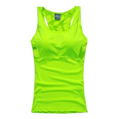 Sexy Women Bustier running shirt Lady's Sport Tank Tops quick dry yoga clothing women sportswear yoga shirts for women Fitness(China (Mainland))