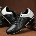 Mens Casual Shoes Luxury Brand Leather Shoes Men Flats Shoes For Men Shoes 3 Colours Chaussure