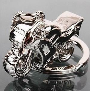 Fashion chaveiro Classic 3D Simulation Motorcycle Keychain llaveros Key Chain Ring Keyring personality jewelry key chain llavero(China (Mainland))