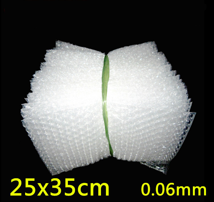 25x35cm 0.06mm 100pcs New Wrap Envelopes/ White Plastic Bubble Bags/LDPE Packing material Bubble Bag Wholesale price(China (Mainland))