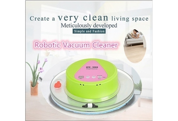 IH Home Robot Vac Mop UFO Shaped intelligent Auto Robotic Vacuum Cleaner IE (Color: Green)(China (Mainland))