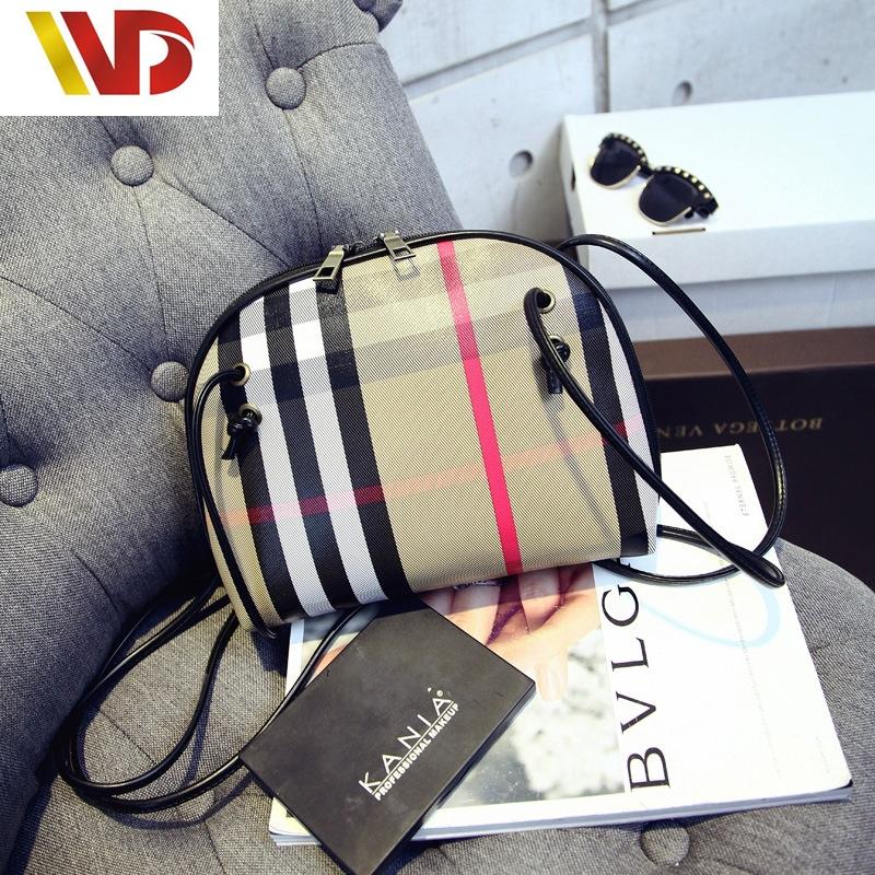 crossbody bags for women bolsos mujer sling bag canvas font b plaid b font ladies sacoche