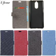 Buy Uftemr Cases Doogee Shoot 1 Magnetic Linen Texture Flip Wallet Cover Case Card Slot Mobile Phone Case Card Slots for $6.44 in AliExpress store