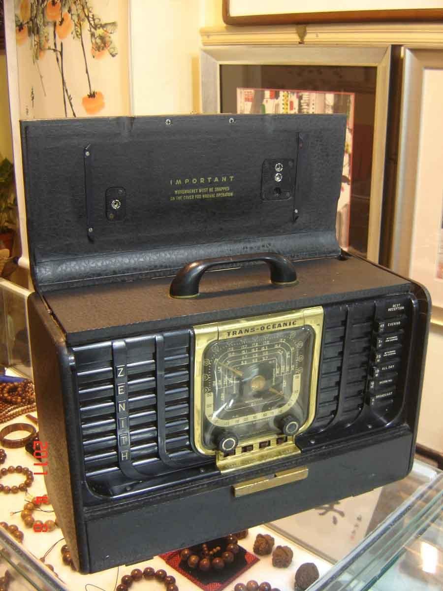 American Zenith Trans Oceanic antique tube radios(China (Mainland))