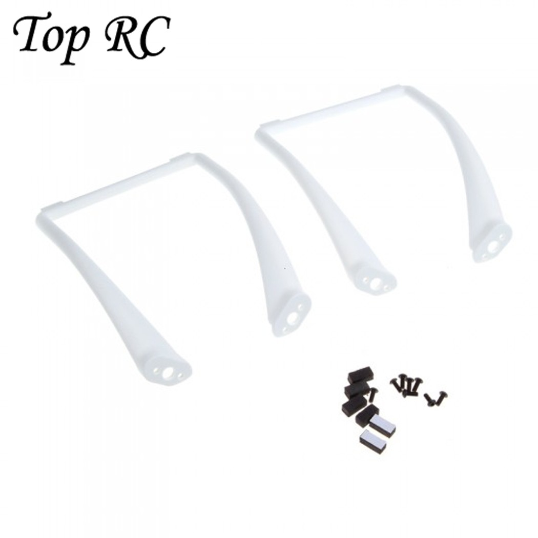 2pcs Tall Landing Skid Gear Suit for DJI Phantom 1 2 Vision Wide Heightened Drone Spare Parts RC Helicopter Accessories