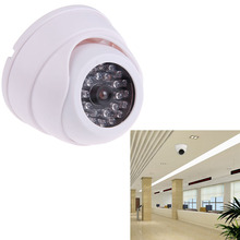 Home & Garden Fake Monitor With Flashing LED Light Home Products Decoration pretend For protection FG(China (Mainland))