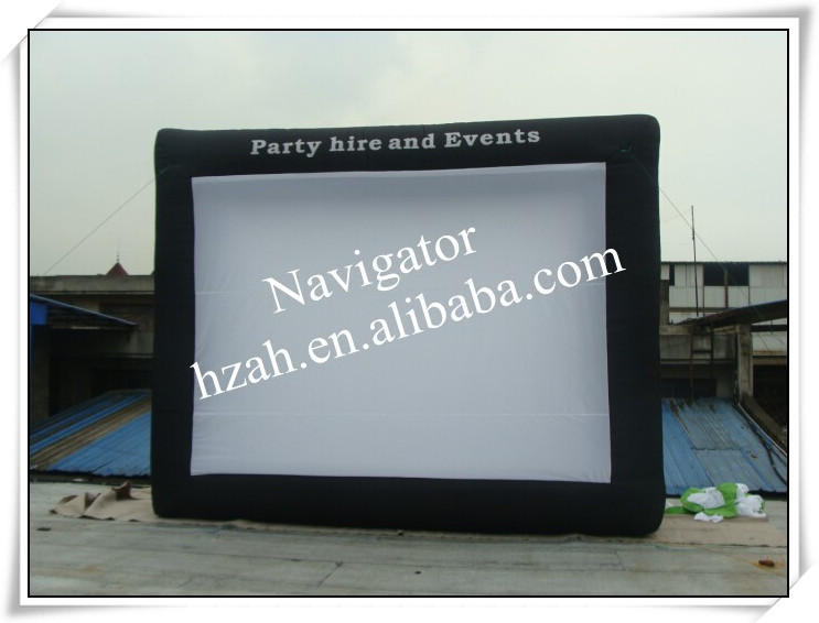 Giant Outdoor Inflatable Movie Screen for Car Parking(China (Mainland))