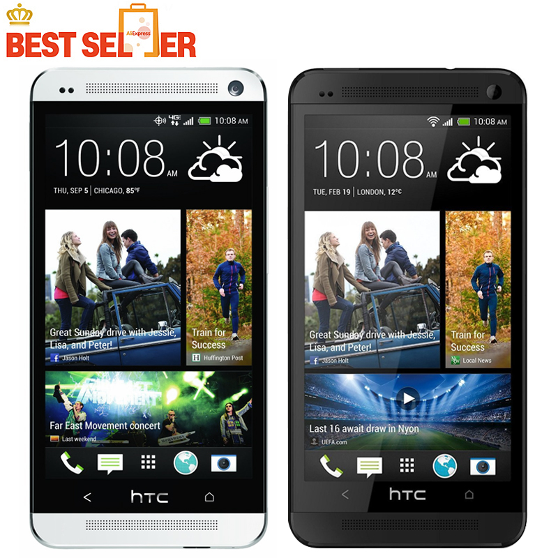 Original Phone HTC ONE M7 Unlocked 3G 4G Wifi GPS 4.7'' Touch Cell Phone 2GB RAM 32GB Storage Android SmartPhone Free Shipping(China (Mainland))