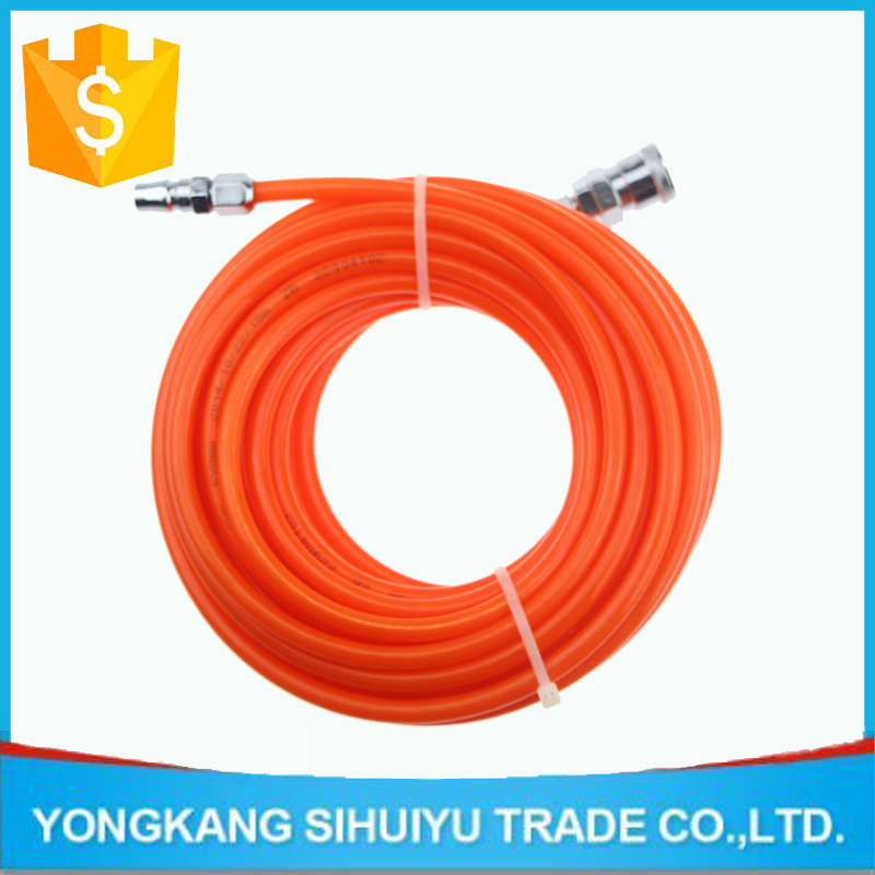 pneumatic tools Air hose Pneumatic components Bourdon tube orange PU5 * 8 tracheal quick connector 15M-Length(China (Mainland))