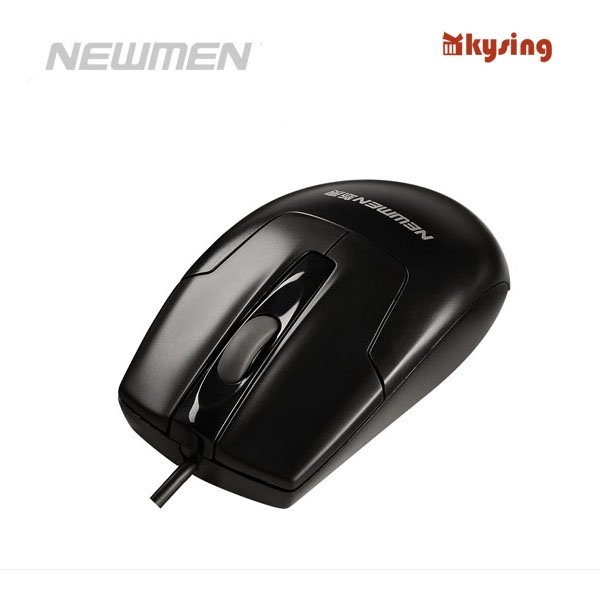 Genuine Newman herd leopard 100 MS-180OU (OP) USB PS/2 cable pc mouse Free Shipping(China (Mainland))