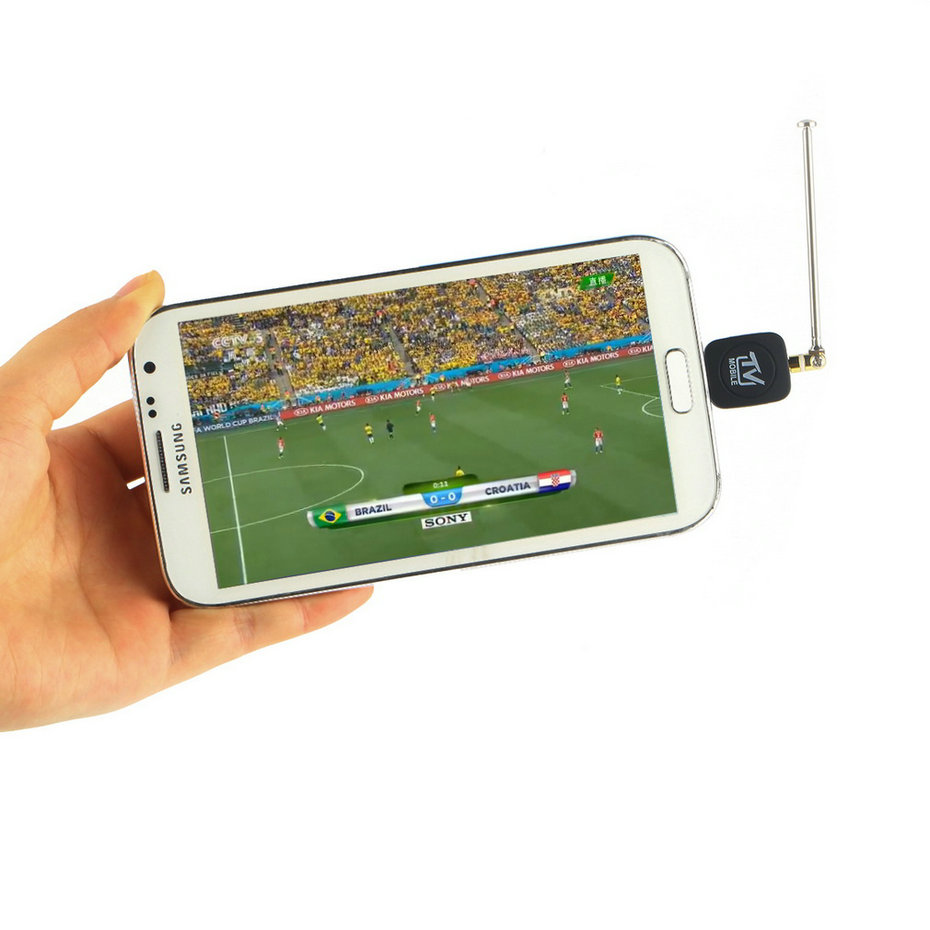 1pcs Mini Micro USB DVB-T Digital Mobile TV Tuner Receiver for Android 4.1 Above Hot Worldwide Promotion(China (Mainland))