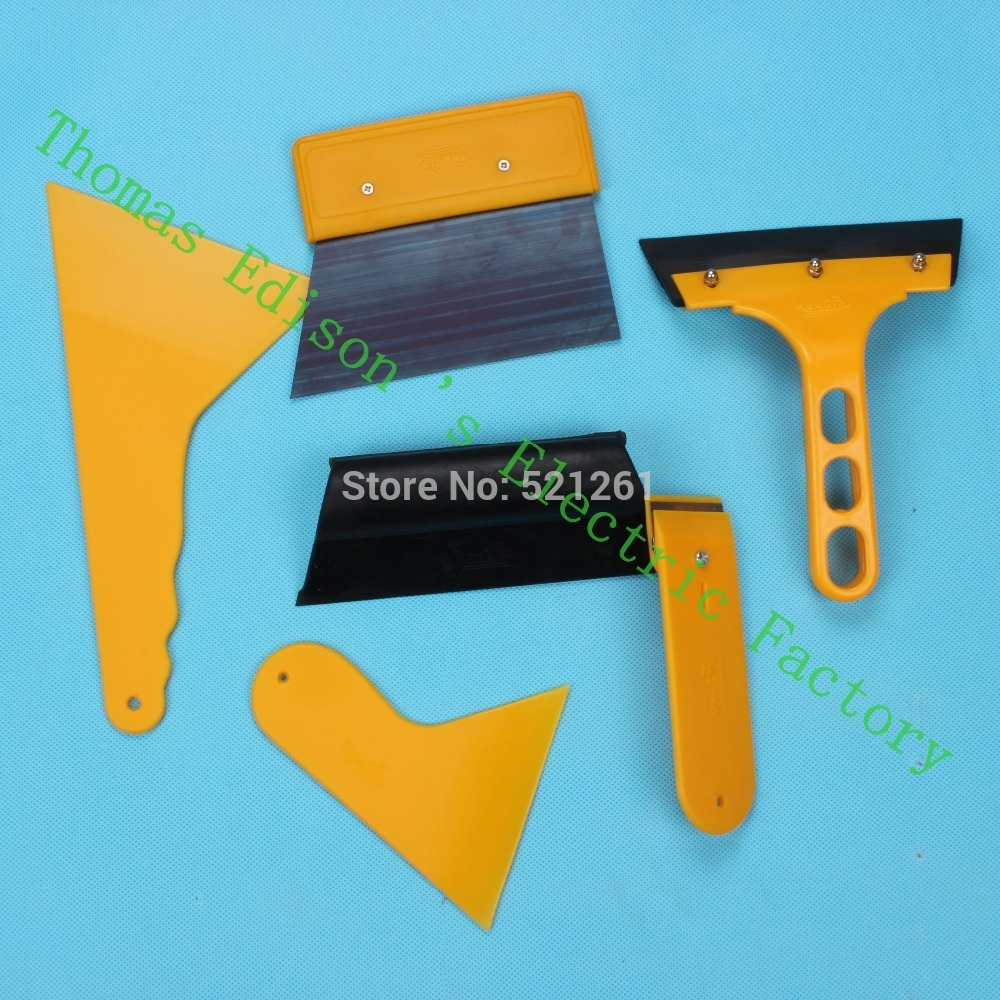 7PCS/lot car tool kit for 3D carbon vinyl fiber wrap install stretch high quality soft Film Tools set for 3M scraper<br><br>Aliexpress