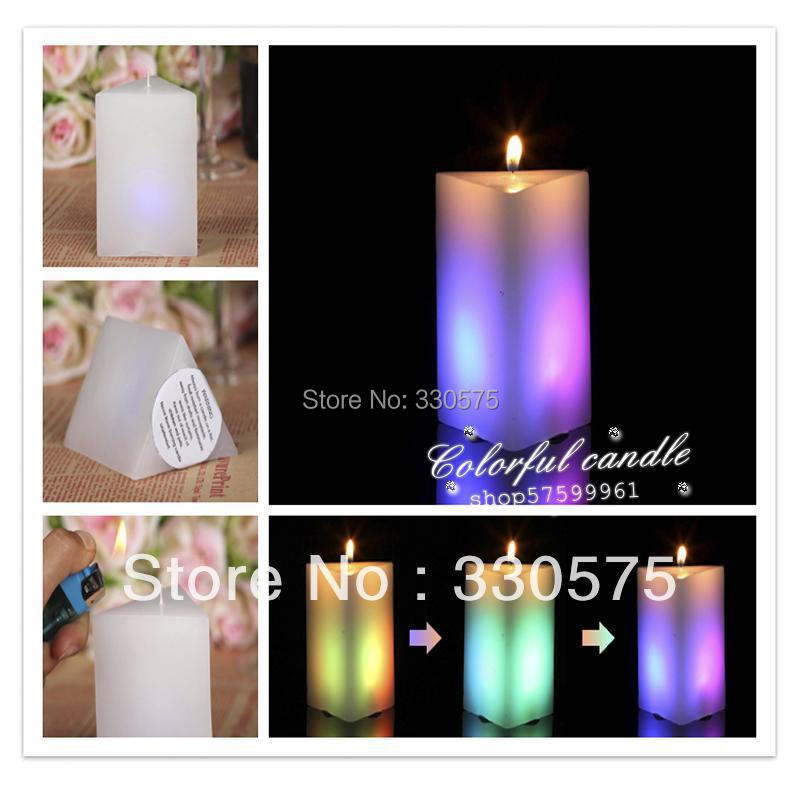 New rectangular led wax candle Led candle for decoration of Birthdays, Weddings, Parties, Religious Activities(China (Mainland))
