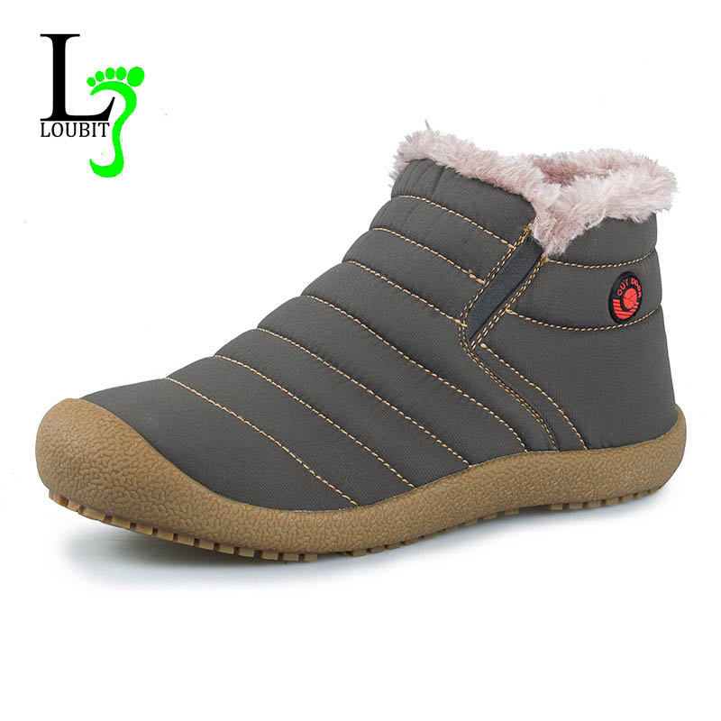 Men Boots 2015 Winter Best Quality Snow Boots Men Outdoor Shoes Soft Waterproof Shoes Warm Shoes With Fur(China (Mainland))