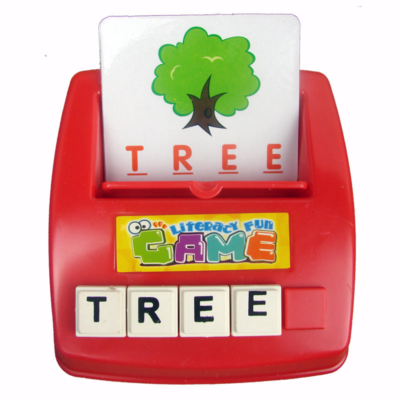 Toys For Cards : Kids english puzzle develop toys baby learning