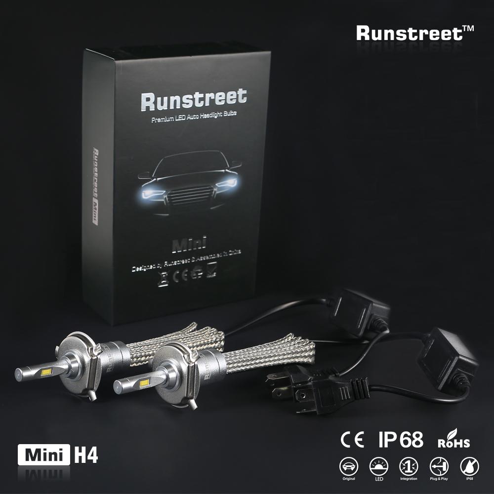 Runstreet(TM) Car LED Headlight Fog Light H1 H3 H4 H7 H11 9005 HB3 9006 HB4 9012 HIR2 Auto Bulb Lamp Replace Halogen Xenon HID(China (Mainland))