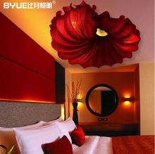 Chinese Style Lamps LED Modern New Classical Conch Art Creative Absorb Dome Light  Sweet Home Ceiling Light(China (Mainland))