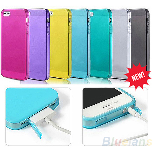 Soft Silicone TPU Matte Case Cover Protector for Apple iPhone 4 4S 4G iPhone4g Mobile Phone 1FM1(China (Mainland))