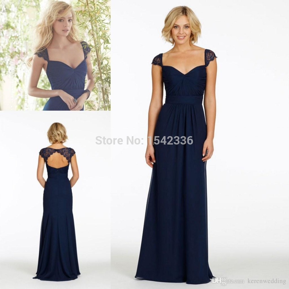 Wedding Navy Blue Lace Bridesmaid Dresses collection navy bridesmaid dresses long pictures fashion trends gowns and dress ideas