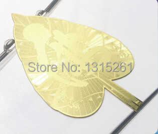 High quality shiny glossy gold metal name plates metal tag gold plate silver plate(China (Mainland))