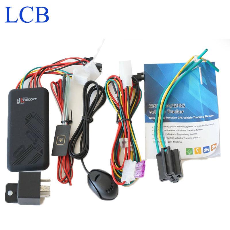 Frete grátis Mini veículo GPS Tracking GT06 com corte de combustível / stop motor / alarme GSM SIM GSM 850 / 900 / 1800 / 1900 Quad band(China (Mainland))