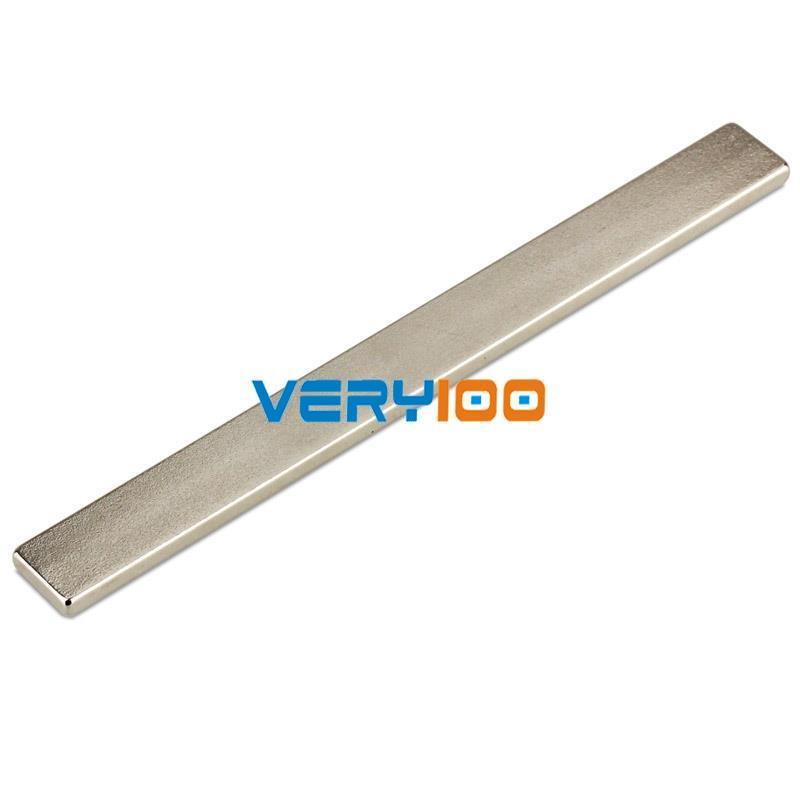 1pc Strong Block Magnets 100mm x 10mm x 3mm Rare Earth Neodymium N35<br><br>Aliexpress